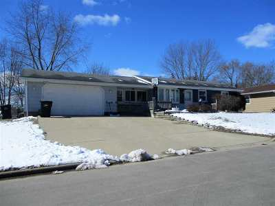 Rock County Single Family Home For Sale: 1412 Johnson