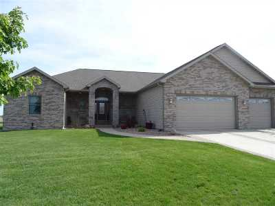 Rock County Single Family Home For Sale: 3610 Eagles Ridge Dr.
