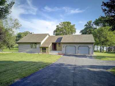 Sauk County Single Family Home For Sale: E12821 West Point Dr