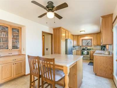 Green County Single Family Home For Sale: N9528 Argue Rd
