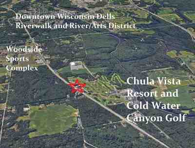 Wisconsin Dells Residential Lots & Land For Sale: 3.07 Ac Hwy 13
