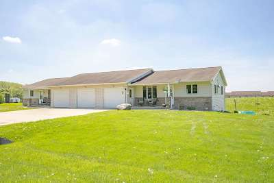 Green County Multi Family Home For Sale: W3249 Blazer Rd