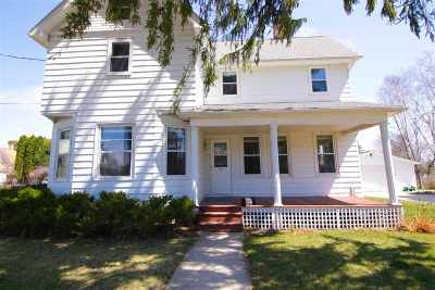 Mount Horeb Single Family Home For Sale: 105 S 5th St