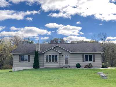 Jefferson County Single Family Home For Sale: N2118 County Road A