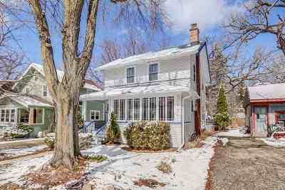 Madison Single Family Home For Sale: 2118 Regent St