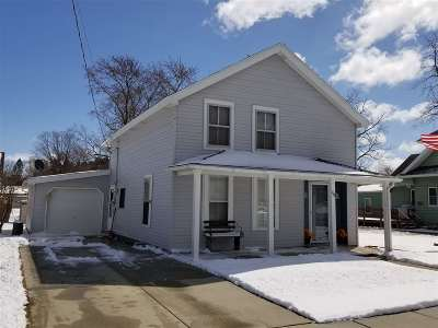 Pardeeville Single Family Home For Sale: 118 3rd St