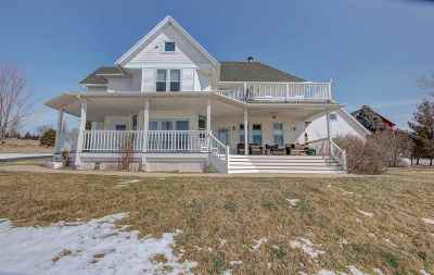 Waterloo Single Family Home For Sale: N9038 Setz Ln