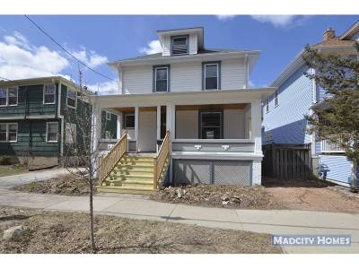 Madison Single Family Home For Sale: 1348 Spaight St