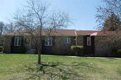 Pardeeville Single Family Home For Sale: N6839 Donlin Dr