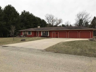 Edgerton Single Family Home For Sale: 7865 N Pine View Dr