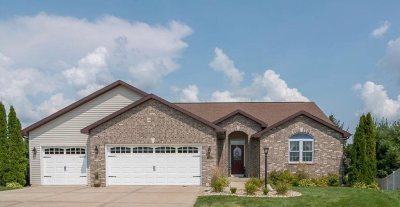 Evansville Single Family Home For Sale: 612 Hillside Ct