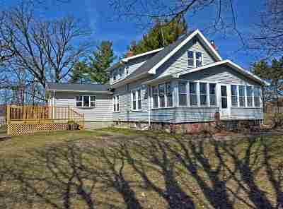 Columbia County Single Family Home For Sale: N5523 W Hill Rd