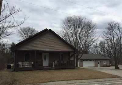 Columbus Single Family Home For Sale: N3430 County Road Tt