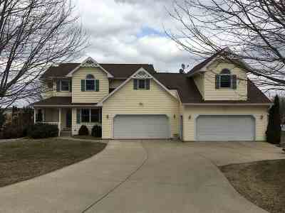 Green County Single Family Home For Sale: N3502 Grandview Ln