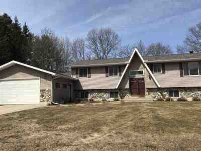 Friendship Single Family Home For Sale: 836 County Road J