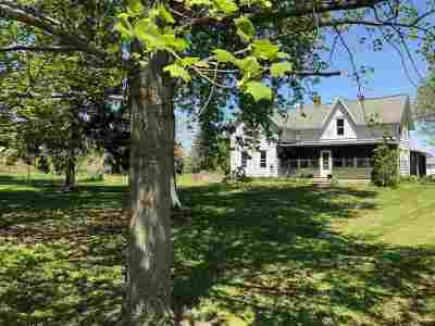 Columbia County Single Family Home For Sale: W12968 County Road J
