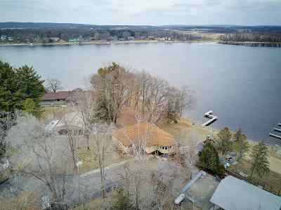 Columbia County Single Family Home For Sale: N7330 S Shore Dr
