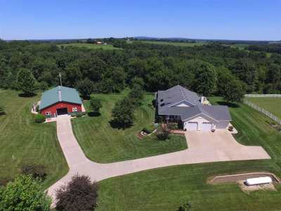Iowa County Single Family Home For Sale: 8370 County Road A