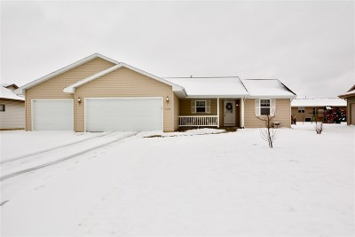Janesville Single Family Home For Sale: 4058 Greenbriar Dr