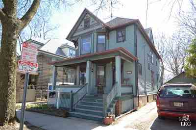 Madison Single Family Home For Sale: 508 S Baldwin St