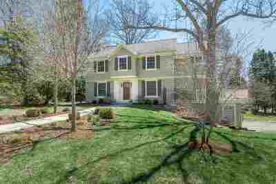 Madison Single Family Home For Sale: 2933 Colgate Rd