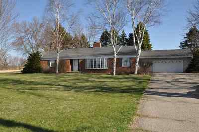Stoughton Single Family Home For Sale: 3068 County Road A