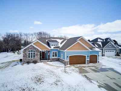 Waunakee Single Family Home For Sale: 6404 Nature Cove Tr