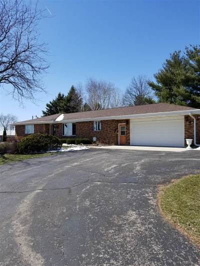 Green County Single Family Home For Sale: W5969 Patina Ln