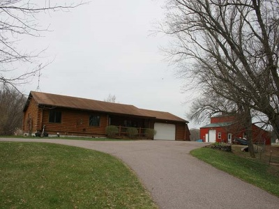 Sauk County Single Family Home For Sale: E9778 County Road O