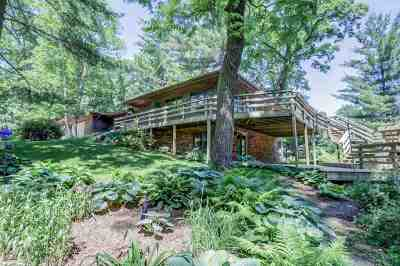 Green County Single Family Home For Sale: N3874 Park Rd