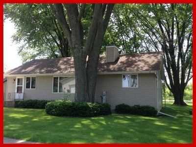 Jefferson County Single Family Home For Sale: W8129 Elm Point Rd