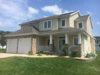 Stoughton WI Single Family Home For Sale: $379,900