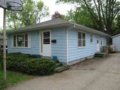Single Family Home For Sale: 4612 Camden Rd