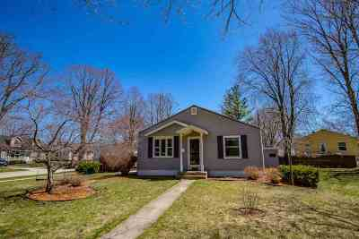 Madison WI Single Family Home For Sale: $199,000