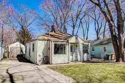 Madison WI Single Family Home For Sale: $170,000