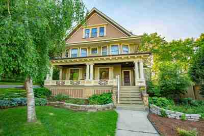 Madison Single Family Home For Sale: 302 Lathrop St