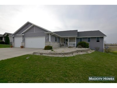 Janesville Single Family Home For Sale: 3742 Red Stone Dr