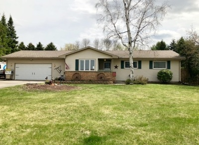 Milton Single Family Home For Sale: 4516 E M-H Townline Rd
