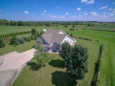Jefferson County Single Family Home For Sale: N8252 West Rd