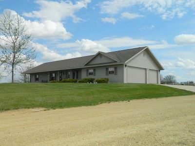 Green County Single Family Home For Sale: W5263 Allison Rd