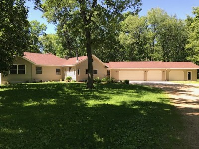 Columbia County Single Family Home For Sale: N3545 Mohr Rd