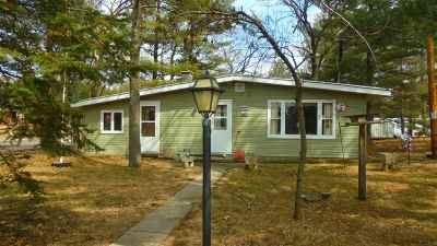 Friendship WI Single Family Home For Sale: $53,900