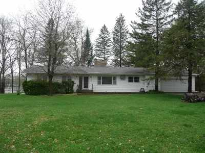 Wisconsin Dells Single Family Home For Sale: 3691 Hwy 13