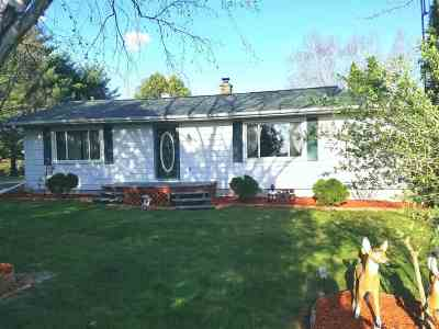 Sauk County Single Family Home For Sale: S4604 Rocky Point Rd