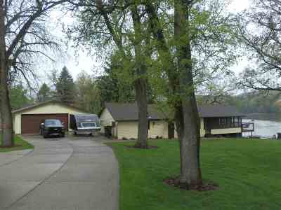 Janesville Single Family Home For Sale: 2722 N West River Dr
