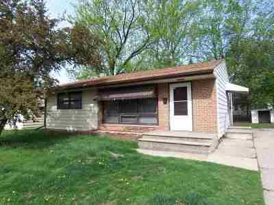 Beloit Single Family Home For Sale: 1867 Porter Ave
