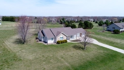 Green County Single Family Home For Sale: W3205 Schaefer Rd