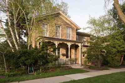 Madison Single Family Home For Sale: 101 S Franklin St