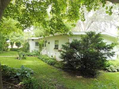 Edgerton Single Family Home For Sale: 719 E Ellendale Rd