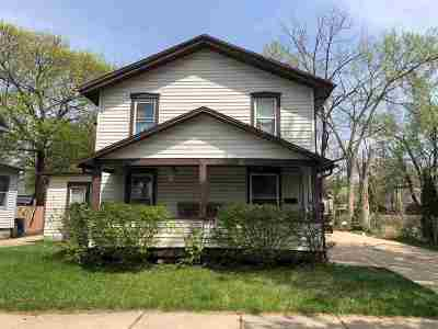 Janesville Single Family Home For Sale: 308 N Chatham St
